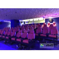 China Electric Motion 5D Cinema Equipment For Excitement , Feel Movements In 5D Cinema Seats wholesale
