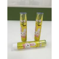 China Shining Cosmetic Squeeze Laminate Tube Children Toothpaste Tube Packaging wholesale