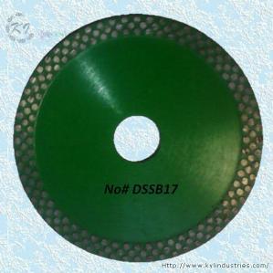 China Continuous Rim Diamond Circular Saw Blade - DSSB17 wholesale