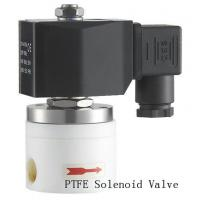 China Direct Acting PTFE Solenoid Valve Electric Air Solenoid Valve 3/4 Inch on sale