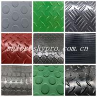 Quality Wear Resistant PVC Vinyl Plastic Sheet , Wear Resistant Laminated Car Floor Mats for sale