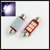 China Canbus Festoon LED Bulb Interior Light Festoon Lamp C5W 12 SMD 4014  LED Map Dome Lights wholesale