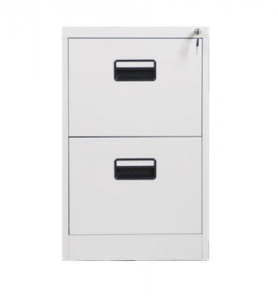 Quality Office Knockdown 728 Mm Two Drawer Metal File Cabinet for sale