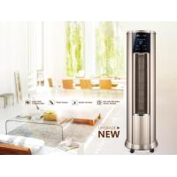 Buy cheap Low Noise Warm Air Conditioner , Hot Air Vertical Fan Heater With LCD Touch from wholesalers