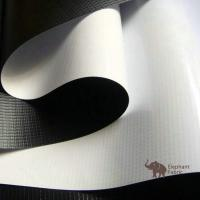 China Soft White / Black 0.40mm Woven Polypropylene Roll Layer Matte Surface wholesale