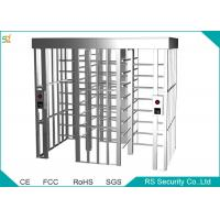 China Stainless Steel Automatic Turnstiles Security Soluction Full Height Turnstile wholesale
