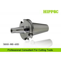 Quality SK40 Threading Tool Holder / Screw Milling Tool Holder Special Steel Drilling for sale