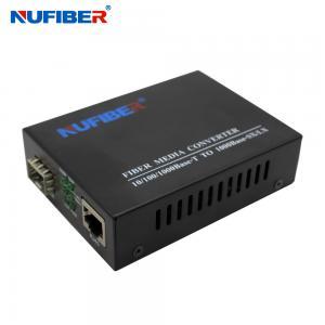 China 10/100Mbps SFP Fiber Media Converter 10/100Base-TX RJ45 Port to 100Base-FX SFP Slot  NF-C560-SFP on sale