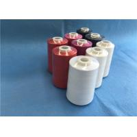 China High Tenacity  Dyed Colors Spun Polyester 100% TFO Sewing Thread 40s/2 5000y Price wholesale