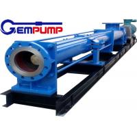 China I-1B series thick slurry pump /	Single Screw Pump / food industry pump / metallurgy industry pump / chemical pump wholesale