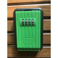 China Waterproof Outdoor Combination Lockbox For Keys Black And Green wholesale
