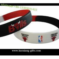 China custom colorful silicone wristband/bracelets for promotional gifts with your logo wholesale