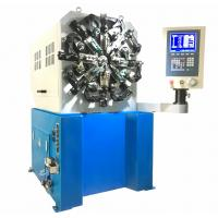 Buy cheap High precision 5 axis CNC spring forming machine with wire rotation and spinner from wholesalers