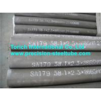 Quality ASTM A192  Seamless Cold Drawn High Pressure Boilers Carbon Steel Heat Exchanger Tubes for sale