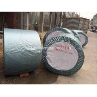 China Rubber Ribbed Nylon Conveyor Belt High Strength For Stone , Flame Resistant wholesale