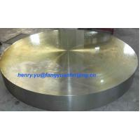 China Tube Sheet Double Stainless Steel Forged Disc 1.4462, F51, S31803; F60, S32205; F53, S32750 wholesale
