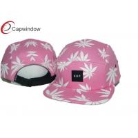 China Adjustable 5 Panel Camper Cap wholesale