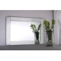 Glass on glass mirrors Wall mirrors beveled mirror frame mirrors 90*65cm