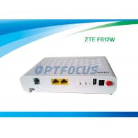 Wholesale Interface GPON EPON ONU FTTH Mode F612W 12 V DC -5dBm Wifi 10 / 100 / 1000 Base-T from china suppliers