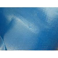 China Custom Blue Polypropylene Fabric 0.4mm For Waterproof Shade Cloth Fabric wholesale