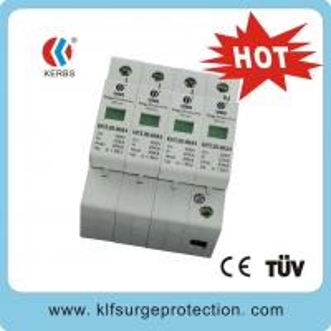 China 380V 40KA Three phase surge protectors wholesale