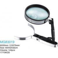 China Office Desktop Magnifying Glass Magnifier Loupe Microscope Adjustable Clamp wholesale