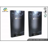 China Black Foldable Paper Electronic Product Packaging Boxes Customized wholesale