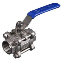 Quality 2 Pollici Femake + Female End Floating Ball Valve With PTFE Seat for sale