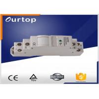 Buy cheap DIN Rail 35mm Mounting DIN Rail Latching Relay 230VAC 50 - 60Hz Rated Voltage from wholesalers