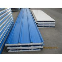 China EPS Sandwich Insulation Panels For Factory Buildings , Polystyrene Foam Board on sale