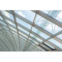 China 3.0MM Building Glass Curtain Wall Residential Tightness Powder Coating wholesale