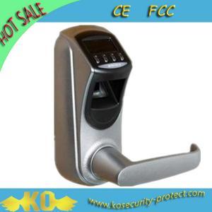 China Weatherproof Robust Housing Fingerprint Digital Door Lock with Visual OLED Display KO-ZL700 wholesale