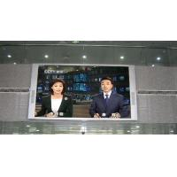 China Lightweight transparent thin led indoor display Full Color p10  RGB  For air port on sale