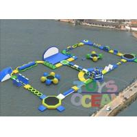 China Mobile Giant Inflatable Water Park Commercial Rental Air Sealed wholesale
