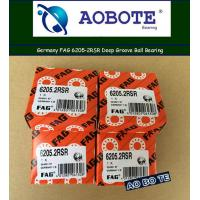 China Crossed FAG Roller Bearings 6205 2RSR High Speed Deep Groove ABEC 5 wholesale
