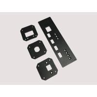 China CNC Machining Aluminum Parts Front Audio Panel With Milling ISO wholesale