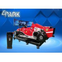 China 5KW Virtual Reality Simulation Ride , VR Car Driving Racing Game on sale