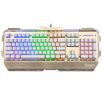 Buy cheap USB Wired Gaming Keyboard 104-Key / Mechanical Light Up Keyboard from wholesalers