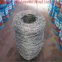 Buy cheap Australia wholesale bulk GALVANIZED Big Barbed Wire/fencing and unit weight of barbed wire/barbed wire factory price from wholesalers