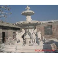 China Marble Carved Fountain / Water Fountain (LY-092) wholesale