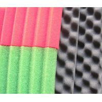 China PU Sound Absorbing Foam with Concave Convex Honeycomb Curved Surface Structure wholesale