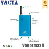 China Dry Herb Vaporizer 510 Electronic Cigarettes Vapormax V OEM on sale