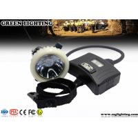 China 3.7V IP67 CREE Mining Cap Lights With Rear Warning Light Atex Certification wholesale