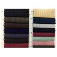 China Woven Plain Style 8 Wale Lightweight Corduroy Fabric None Elasticity For Garment wholesale