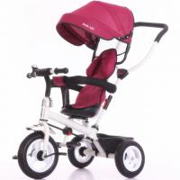 China China factory purple color baby tricycle new models with push bar Tricycle bike for kids wholesale