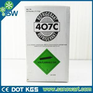 China Professional factory R407C refrigerant gas OEM sevice wholesale