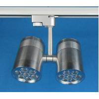 China 14W Double Head Bridgelux, Epistar Aluminum LED Track Light Fixtures for Museum, School wholesale