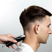 China Low Noise Hair Cutting Machine , Cordless Hair Trimmer T - Shaped Cutter Head wholesale