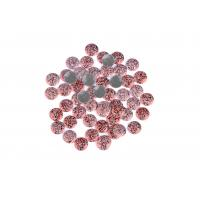 China Strong Glue Crystal Hotfix Rhinestones , Sparkles Rhinestones 12 / 14 Facets wholesale