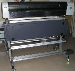 Quality Automatic Mutoh Sublimation Printer 1.2m Multicolor Cloths Printer for sale